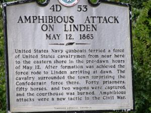 Amphibious attack at Linden