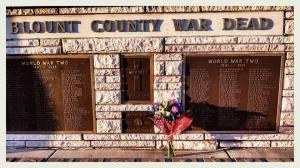 bloount county war dead memorial