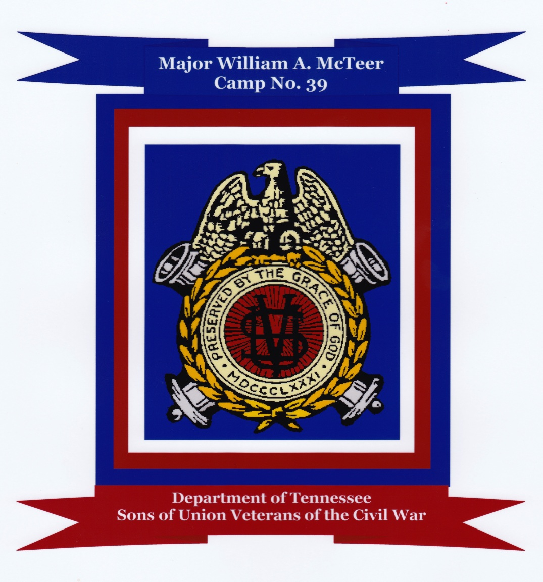 Grand Army Of The Republic Major William A Mcteer Camp No 39 Suvcw
