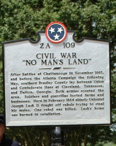 Civil War No Man's Land