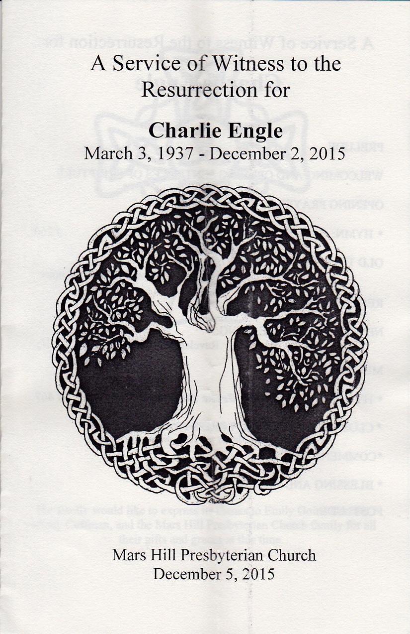 Engle Memorial Service