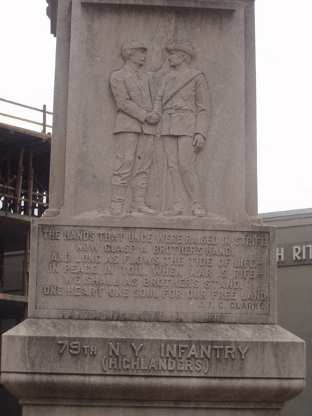 Fort Sanders Monument 79th New York Infantry Highlanders