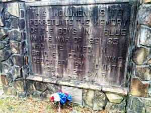 GAR memorial in sw tennessee 1