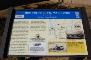 Memphis's Civil War Sites Marker