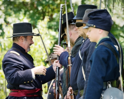 8th Tennessee Voluntary Infantry Re-enactors