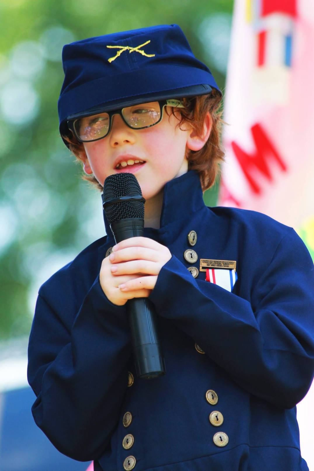 Paddy Fitzsimons singing