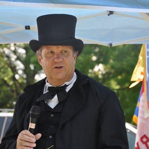Tim Massey as President Andrew Johnson (2)
