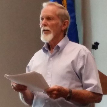 Guest Speaker Ken Cornett at Quarterly Meeting