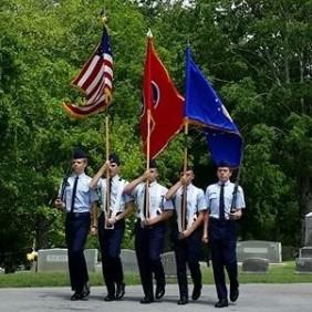 William Blount HS JrROTC AF Color Guard