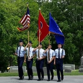 William Blount HS JrROTC AF Color Guard
