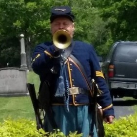 William Dewey Beard Plays Taps