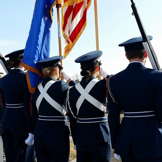 William Blount HS ROTC Color Guar