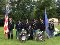 Co E 8th TN Volunteers Re enactors